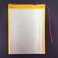 li polymer battery 3.7v - 3 V Li ion Polymer Tablet battery New V mAh Polymer li ion battery For Tablet PC inch inch Size mm