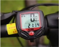 Wholesale Sales Bicycle waterproof Bike Cycling Computer stopwatch Odometer Speedometer