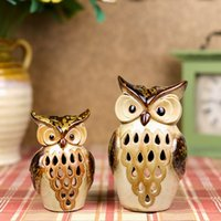 oil lamp - Classic Coupl Owl Aroma Oil Burner Promotion Home Fragrance Lamp Decorative Beauty Salons Essential Oil Burner Candle Holder Promotion DC834