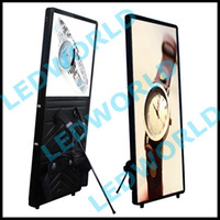 Wholesale Good effect outdoor walking advertising mobile backpack led sign