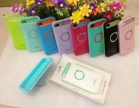 i-glow cases - I Glow Hybrid iglow For iPhone Plus S S iPhone5 Samsung s4 Note Luminous Noctilucent Ring Stand holder Case Cell Phone CoverXL