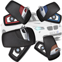 Wholesale Real leather car key case for bmw F10 F20 F16 F30 F06 X3 X4 X5 X6 I I I M135 I I I I I I I I