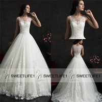 Cheap Wedding Dresses Best Lace Ball Gown 2015 Amelia Sposa