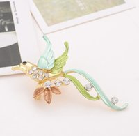 Wholesale new brooches Women Fashion Gold Plated Brooch Rhinestone Women Brooch Pins For gift