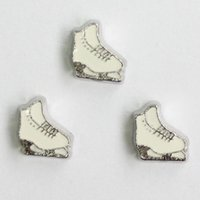 Wholesale Roller skate shoes charms floating charms for living locket