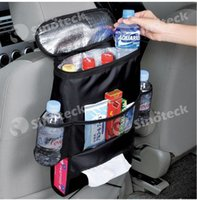 Wholesale Car Seat Organizer Insulation Work Sundries Pocket Holder Travel Storage Bag Hanger Backseat Organizing Free DHL Factory Direct