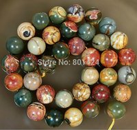 Wholesale quot one string mm mm mm mm mm picasso gemstone beads Loose Beads for jewelry making
