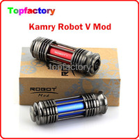 battery overheat - 100 Genuine Robot Colorful Mod Match mah Battery With Kick Chip For Battery against Overheating Short circuits TZ036 Free