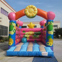 amusement play set - AOQI amusement park most popular delicious fruit bouncer inflatable jumping bouncer for kids for sale made in China