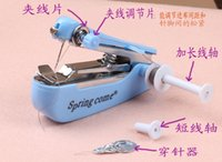 Wholesale Manual sewing machines household sewing sealing machine handheld portable mini sewing machine mini compact sewing machine