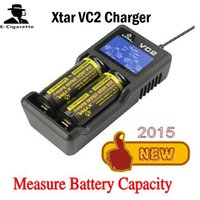 Wholesale Genuine Xtar VC2 Battery Charger Lithium Battery Chargers LCD Displays VS itecore I2 itecore D2 Xtar MC1 Plus Trustfire TR