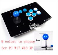 arcade stick controller - Colors Fight Arcade Game Joysticks Sticks Buttons Controls Controller For PC USB Joystick Arcade Rocker