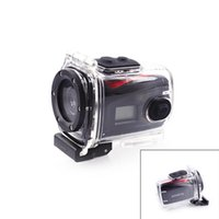 Wholesale ESER F22 quot OLED MP CMOS Mini Portable Waterproof Sport Camcorder Black Red