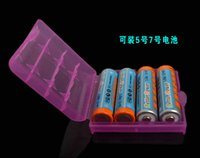 aa battery case - Hard Plastic Case Holder Storage Box For AA AAA Battery batteries Portable colors