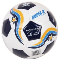 Wholesale Mesuca Sport Super K Machine Sewn TPU Soccer Ball SAB10133 Two Colors Football Match Training for Adult