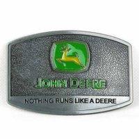 Wholesale John Deere Logo Metal Fashion Belt Buckle Green Yellow Enamel Inlay New