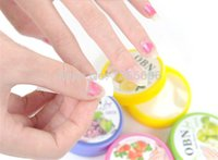 art flavor - sets Fruit Flavor Wet Wipes Paper Towel Nail Art Polish Vanish Remover Pads