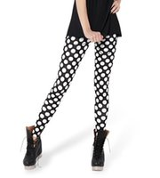 Cheap Frop Shipping HOt Sales Fashion 2014 Pirate Leggins Galaxy Pants Digital Printing MONOCHROMATIC DOT LEGGINGS For Women S106-430