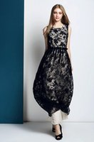 Wholesale The new summer women s fashion temperament of cultivate one s morality dress Sexy Bohemian long black dress