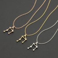 best necklaces october - Best Bijoux Libra Zodiac Sign Astrology Necklace Constellation Jewelry Astrology Necklace star sign september october birthday