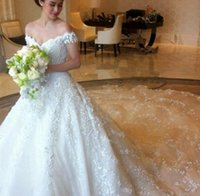beads thailand - 2016 Robe De Mariage Thailand Luxury Lace Wedding Dresses With Capped Sleeves Long Train Ball Gowns V Neck Backless Glamour Bridal Skirt