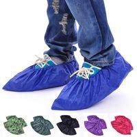 Wholesale Wearable Waterproof Shoe Covers Thicken Rainproof Repeated Use Machine Washable JG18