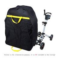 venda por atacado electric golf trolley-Novo Golf Club Sacos de golfe Heavy Golf Electric Trolley Bag Travel Car Waterproof Bag Cover Protector