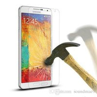 Cheap wholesale Anti Shatter 0.33mm 9H 2.5D Premium Tempered Glass Screen Protector for Samsung Galaxy Note 3 N9005 N9006 without Retail Package