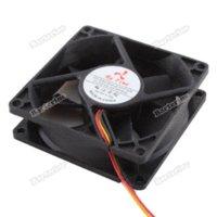 ball bearing mounting - smartgood MM MM LED Blue Internal PC CPU Computer Cooling Fan Case Mount Screws MM Black
