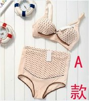 Wholesale Fashion maternity bra maternity underwear maternity panties before the open button nursing bra
