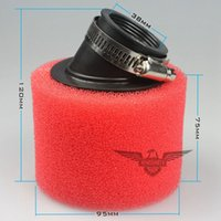 Wholesale 38mm cc Moped Scooter Two Colors Foam Air Filter Cleaner cc cc Pit Dirt Bike Motorcycle