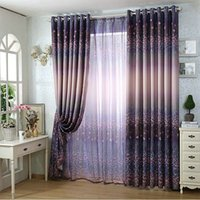 arrival valances - New Arrival Green Purple Window Treatments Blinds For Living Room Bedroom Blackout Curtains Voile Valances Drapery