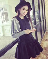 ball community - In Autumn The New South Korean Fashion Dongdaemun Falbala Fluffy Fresh Dress Female Community FG1511