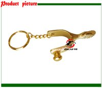 Wholesale horse spur key ring key chain key holder giveaways K003C