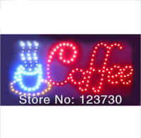 animated club lights - Animated Motion LED Restaurant Coffee Club SIGN On Off Switch Open Light Neon