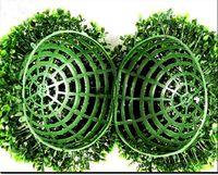 Wholesale 40cm cm cm cm diameter artificial plastic boxwood ball grass ball ANTI UV for indoor outdoor decoration