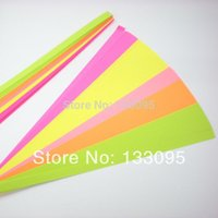 Wholesale 1500 strips colorful Korean origami lucky star paper folding multicolor wish Gift lovely LOVE