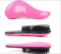 beauty combs - Comb Professional Teezer Hair Brush With Paragraph Detangling Salon Hairdressing Massage Beauty Antistatic