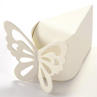 baptism cake decorations - Hot Butterfly Favor Gift Candy Boxes Cake Style for Wedding Party Baby Shower Birth Baptism Decoration order lt no track
