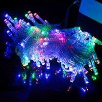 amp bulbs - M100 LED Colorful Lights Decorative Christmas Party Festival Twinkle String Lamp Bulb V EU amp amp Retail