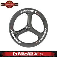 fixed gear - Corbon Tri Spoke Wheel S Front SPOKE For Road Or Fixed Gear wheel Triathlon Time Trial Bike Wheels