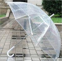Wholesale 2015 New Umbrella For Rain Fashion Sunshade Umbrellas Length Clear Umbrella Candy Color Pagoda Umbrella For Men Women MC