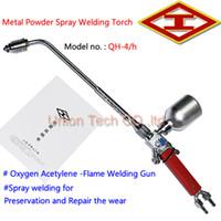 alloy oxygen - Shanghai Huawei Welding Cutting Tools Works Model QH h Self fluxing alloy Powder Oxygen Acetylene Flame Spray Welding Torch