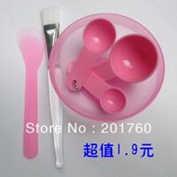 bar assembly brushed - DIY assembly mask tool mask bowl face brush mask bar quantity spoon Makeup Tool Kit set sets free shiping