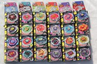 Wholesale New Arrive In stock Children s fashion Christmas toys different style Metal Beyblade Without Launcher