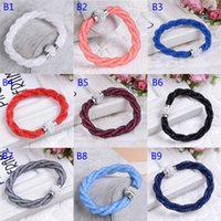 best magnetic bracelets - Women Stardust Magnetic Bracelet Jewelry CZ Crystal Double Wrap Wristband Rhinestone Shamballa Magnetic Buckle Bangles Bracelet Best Gift