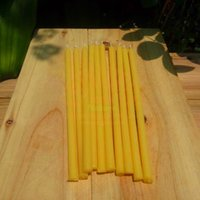 beeswax tealight candles - 10pcs Beeswax Candles x0 cm All Natural Handmade Pure Beeswax Tealight Candles Cotton Wicks