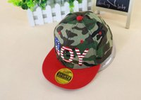 military hats and caps - 2015 Children Snapback Hat Camouflage Color Caps Military Pattern Boy And Girl Hat