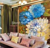 baroque wallpaper - Custom Mural Eco friendly Vanity of Baroque Non Woven Wallpaper wall art decor Living room bedroom Oil painting effect