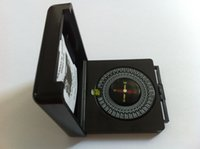 Wholesale Free China Post Air Mail qibla finder Muslim Folded Compass Mystery Muslim compass muslim prayer compass MC25